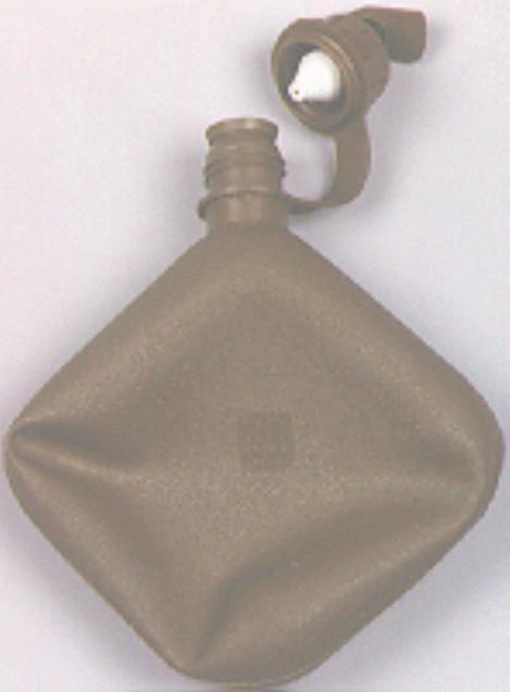 2-quart collapsible water canteen with M1 cap