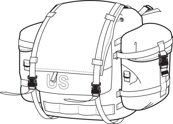 MOLLE Main Pack with Sustainment Pockets