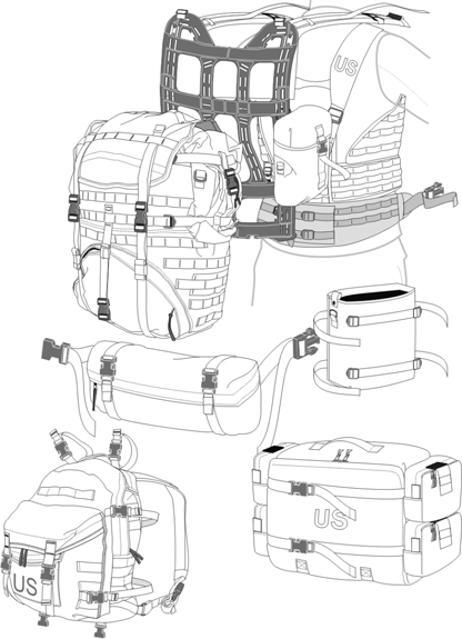 Modular Lightweight Load-carrying Equipment II - CIE Hub