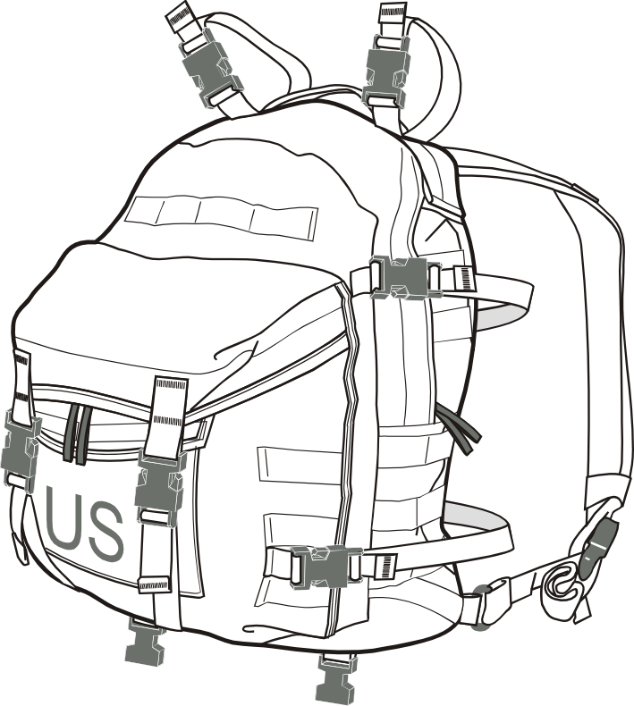 MOLLE II Assault Pack - CIE Hub