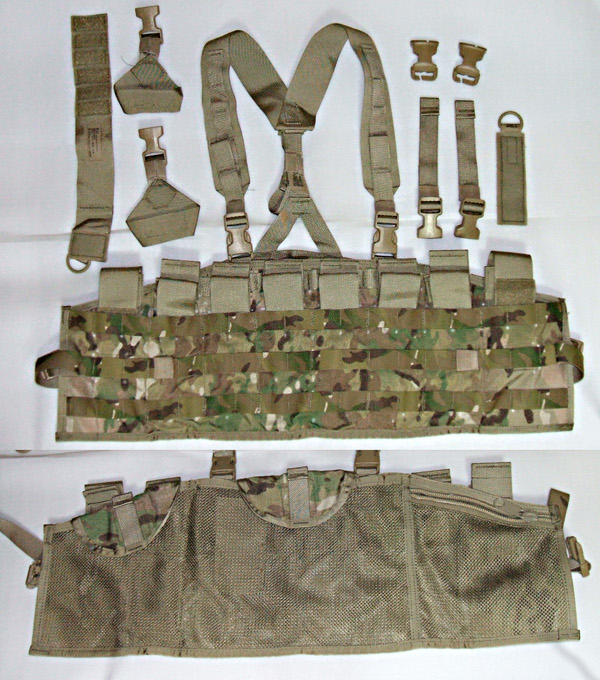 tactical assault panel components