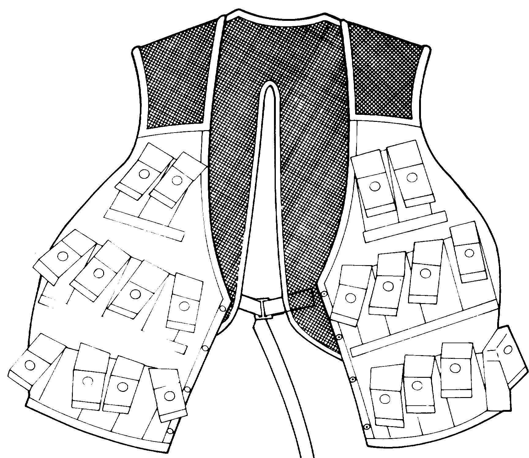 Grenade Carrying Vest